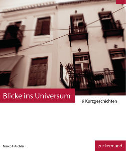 Blicke ins Universum eBook Cover